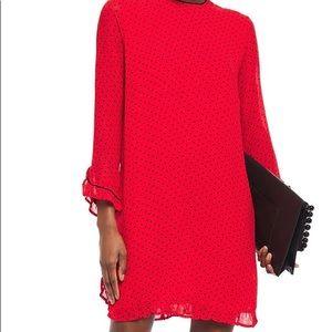 Ganni Red Polka Dot Dress